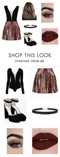 """""""Untitled #103"""" by hillary200 on Polyvore featuring T By Alexander Wang, Boohoo, Jimmy Choo and Humble Chic"""