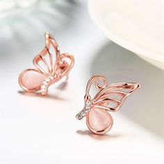 Stylish Jewelry, Cute Jewelry, Fashion Jewelry, Kids Rings, Tiny Stud Earrings, Gold Earrings Designs, Wedding Ring Designs, Butterfly Jewelry, Shoes