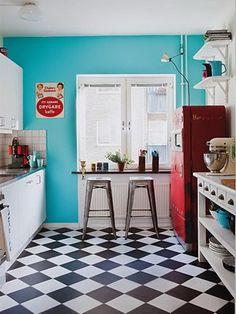 EL SUELO DAMERO | Decorar tu casa es facilisimo.com