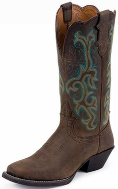 Ariat 174 Unbridled Women S Powder Brown With Camo Top
