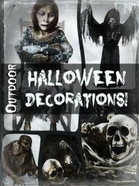 Outdoor Halloween Decorations - Scary Outdoor Halloween Decorations