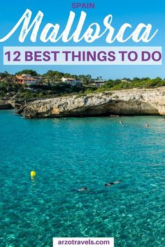 Find out about the 12 best things to do on beautiful Mallorca / Majorca in Soain.This island has so much to offer and here are the best activities for Mallorca.