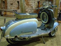 Lambretta Scooter, Motor Scooters, Cars And Motorcycles, Automobile, Garage, Classy, Bike, Colors, Beauty