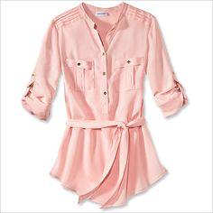 Spring Fashion Trends — Sweet & Soft: Calvin Klein Shirt