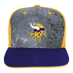NFL Minnesota Vikings Boys Magna Flatbrim Snapback Regal Purple One Size *** Continue to the product at the image link.