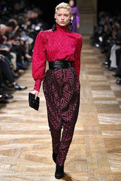 Balmain Fall 2013 Ready-to-Wear Fashion Show - Martha Hunt