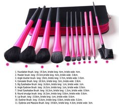 Best Cosmetic Brush - Cheap Pcs Professional Makeup Brush Set Cosmetic Makeup Brushes Online with $13.76/Piece | DHgate.com