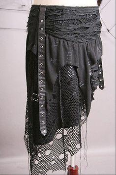 Visual Kei Punk Gothic Lolita Rock Heavy Metal Skirt Japan Fashion Free SHIP | eBay