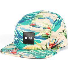 Huf Hawaiian Volley Hat (Tropical) $35.95