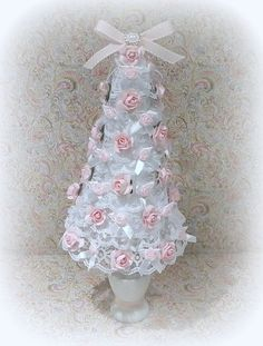 Shabby Chic Christmas Christmas Decoration by uniqueboxboutique