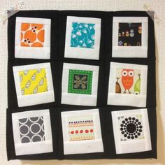Bees and BOMs: August / Polaroid Photo Quilt