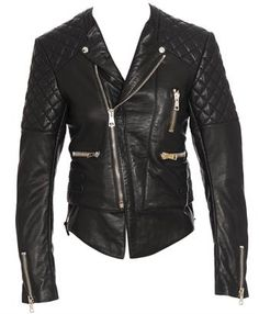 Indie Designs Balenciaga Inspired Quilted Motorcycle Jacket ($425.00) - Svpply