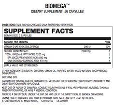 Usana fish oil review biomega usana fish oil biomega for Fish oil supplement side effects