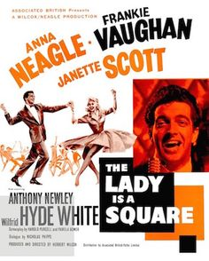 THE LADY IS A SQUARE 1959 movie. The story concerns an aspiring pop/rock 'n' roll singer who falls for an upper class beauty whose mother controls her life and definitely does not approve of rock 'n' roll. On DVD.