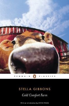 Cold Comfort Farm (Penguin Classics) by Stella Gibbons, http://www.amazon.com/dp/B002RI9S06/ref=cm_sw_r_pi_dp_PqE2qb0W44F97