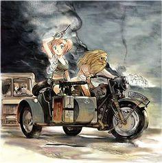 Metal Slug 4 Motorcycle