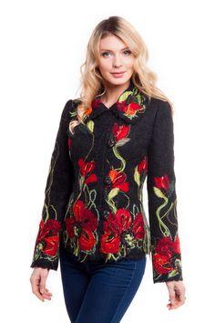 """Жакет """"Агата"""" - Юкостайл. Магазин дизайнерской одежды оптом и в розницу."""