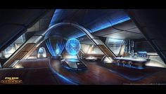 Sci-Fi Spaceships | ... +vessel+sci+fi+spaceship+interior+star+wars+the+old+republic+2.jpg