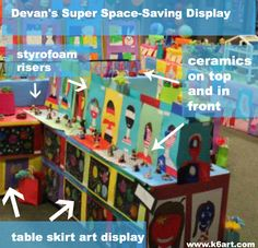 devan's super space saving display (art show ideas)