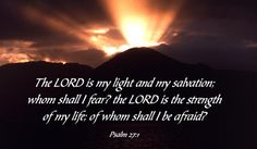 Free Psalm 27:1 eCard - eMail Free Personalized Scripture Cards Online