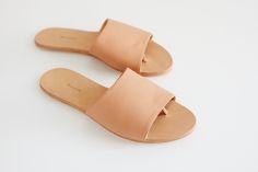 making sandals