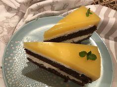 Mosolyra csábító: Fanta szelet | Mediterrán ételek és egyéb finomságok... Cheesecake, Food, Cheesecakes, Essen, Meals, Yemek, Cherry Cheesecake Shooters, Eten