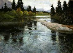 River  Frits Thaulow