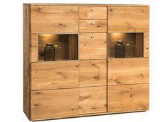 Luxusní dubová komoda DALLAS 47 je luxusní a velmi stylová komoda z masivu, která daruje Vašim interiérům punc dokonalosti. Wood Display, Cabinet Decor, Bespoke Design, Wood Doors, Solid Oak, Dallas, Glass Door, Locker Storage, Texas
