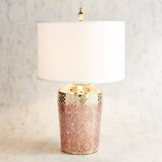 When looking for a lamp for your house, your choices are nearly unlimited. Find the perfect living room lamp, bedroom lamp, desk lamp or any other style for your particular area. Pink Lamp, Large Lamps, Rustic Lamps, Bedroom Lamps, Bedroom Ideas, Master Bedroom, Bedroom Decor, Bedside Lamp, Decoration