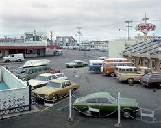 Fifth Street and Broadway, Eureka, California, September 2, 1974 © Stephen Shore