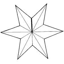 kleurplaat sterren zon maan 1 muzo kerst
