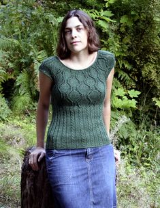 Arbor by Melissa Burt, free pattern - front by Indigomouse, via Flickr