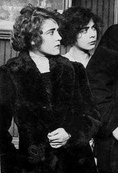 Mary Pickford (1892-1979) and Lottie Pickford (1893-1936)