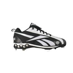 SALE - Reebok Pro Cooperstown Baseball Cleats Mens Black Synthetic - Was $89.99 - SAVE $55.00. BUY Now - ONLY $34.98