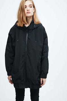 Sparkle & Fade - Blouson d'aviateur Sportstar noir - Urban Outfitters