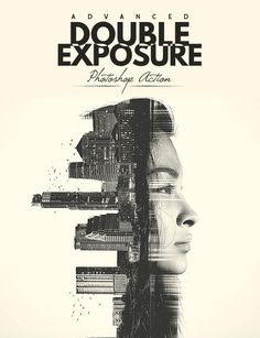 Buy Advanced Double Exposure - Photoshop Action by BlackNull on GraphicRiver. Advanced Double Exposure – Photoshop action Recreate the legendary superimposition technique with your photos, images. Cool Photoshop, Best Photoshop Actions, Effects Photoshop, Creative Photoshop, Photoshop Design, Photoshop Tips, Photoshop Tutorial, Photoshop For Photographers, Photoshop Photography