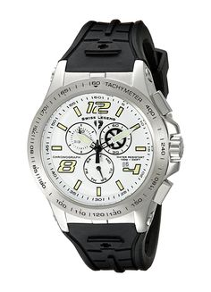 Swiss Legend Men's 10040-02S Sprint Racer Chronograph White Dial Watch -- Read more at the image link.