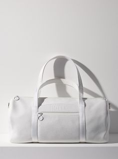 Super 8 weekender bag | HotelMotel | | Simons Photo Dimensions, Waterproof Fabric, Weekender, Calf Leather, Calves, Gym Bag, Shoulder Strap, Two By Two, Fashion Jewelry