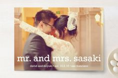 Happy Everything Wedding Announcements by annie clark at minted.com