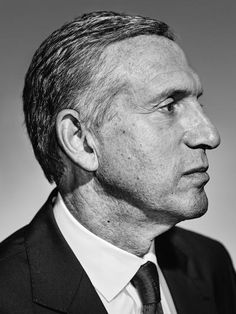 """Starbucks CEO Howard Schultz photographed in Seattle.<br><br>From """"Starbucks For America."""