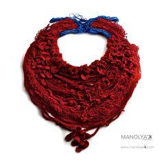 Manolya Konyuk - Hand kitted thread - Penelope/ 1852 Km