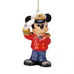 M.I. Hummel Disney Captain Mickey Ornament 102943
