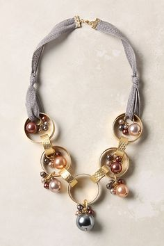 Nacre Tone Necklace - Anthropologie