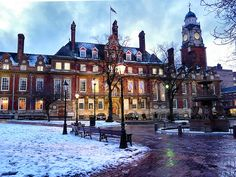 Leicester Town Hall Square by kev747, via Flickr