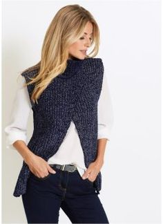 Easy Sweater Knitting Patterns, Outlander Knitting Patterns, Knit Vest Pattern, Crochet Circles, Knit Wrap, Crochet Cardigan, Fashion Outfits, Pullover, Clothes