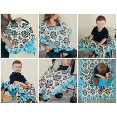 Pretty neat! It's a 6-in-1 nursing cover. Babee Covee - Sunshine Elephant & Platinum Dot