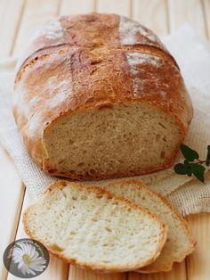 """Kulinarne Szaleństwa Margarytki: Chleb """"szwajcarski"""" z garnka żeliwnego (pszenny na..."""