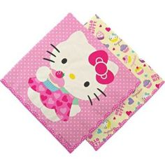 Hello Kitty Large Paper Napkins, 20-Pack