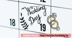 Wedding Checklist Printable, Wedding Planning Checklist, Plan Your Wedding, Wedding Tips, Wedding Day, Tickets Online, Wedding Function, Breeze, Tuesday