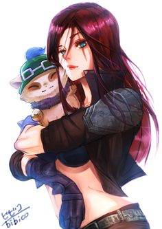 LoL Katarina and Teemo